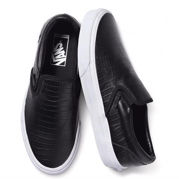 ffbb803a5d Vans Cali Classic Leather Croc Slip-ons. M 5b1c170adf0307221e42527d